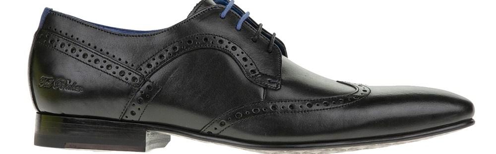 TED BAKER - Ανδρικά παπούτσια OLLIVUR μαύρα