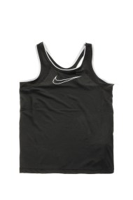 NIKE - Κοριτσίστικη αμάνικη μπλούζα NIKE NP TANK μαύρη