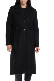 MOLLY BRACKEN - Γυναικείο παλτό MOLLY BRACKEN μαύρο