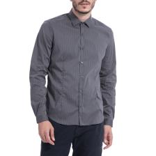 GAUDI - Ανδρικό πουκάμισο Gaudi γκρι