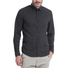 GAUDI - Ανδρικό πουκάμισο Gaudi γκρι-μαύρο