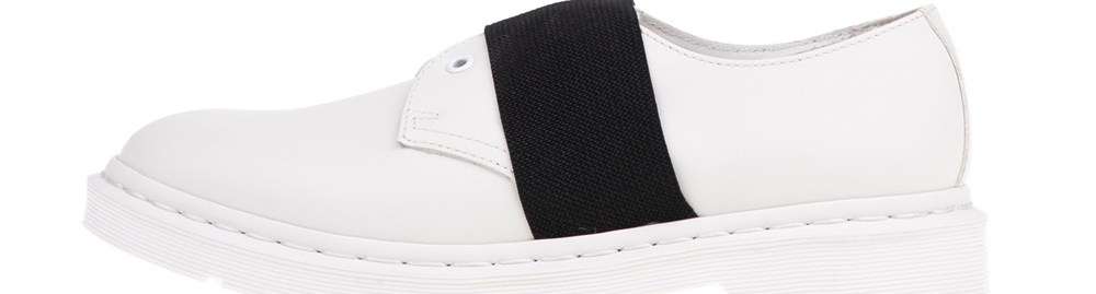 DR.MARTENS - Unisex παπούτσια ELT DR.MARTENS λευκά