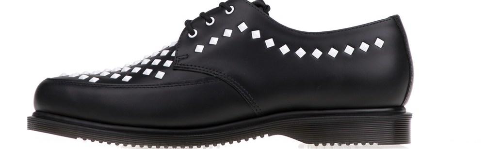 DR.MARTENS - Unisex παπούτσια Willis Stud Creeper DR.MARTENS μαύρα
