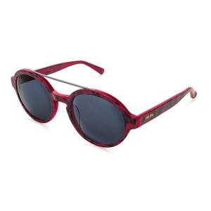 FOLLI FOLLIE - Γυναικείο στρογγυλά γυαλιά ηλίου FOLLI FOLLIE κόκκινα