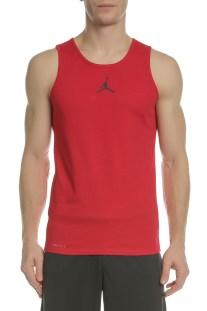 NIKE - Ανδρική φανέλα μπάσκετ NIKE JORDAN RISE DRI-FIT κόκκινη e0e6b19dcf3
