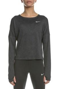 NIKE - Γυναικεία μακρυμάνικη μπλούζα Nike DRY MEDALIST γκρι