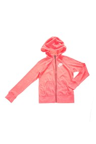 NIKE - Κοριτσίστικη ζακέτα φούτερ NIKE VNTG HOODIE FZ ροζ