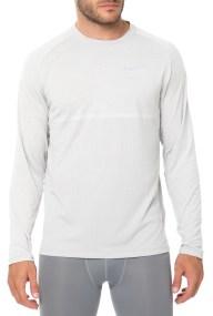 NIKE - Ανδρική μακρυμάνικη μπλούζα Nike DRY MEDALIST λευκή
