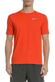NIKE - Ανδρική κοντομάνικη μπούζα Nike TAILWIND πορτοκαλί