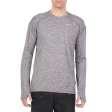 NIKE - Ανδρική μακρυμάνικη μπλούζα για τρέξιμο NIKE DRY ELMNT γκρι