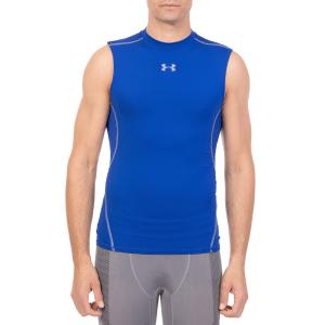 44a4742d88c0 UNDER ARMOUR - Ανδρική αμάνικη μπλούζα UNDER ARMOUR HG COMP TANK SL μπλε