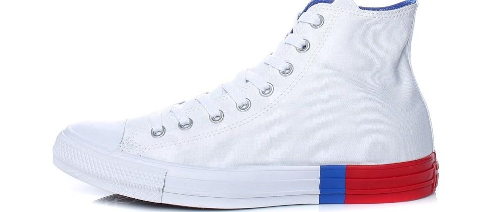 CONVERSE - Ανδρικά μποτάκια Converse Chuck Taylor All Star Hi λευκά