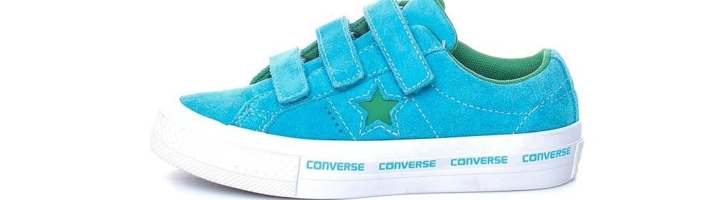 CONVERSE - Παιδικά παπούτσια One Star 3V Ox γαλάζια