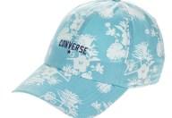 CONVERSE - Unisex καπέλο ALOHA DAD γαλάζιο με φλοράλ print