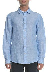 SCOTCH & SODA - Ανδρικό πουκάμισο Scotch & Soda γαλάζιο