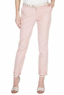 SCOTCH & SODA - Γυναικείο chino παντελόνι SCOTCH & SODA ροζ