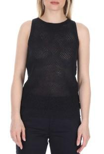 SCOTCH & SODA - Γυναικεία πλεκτή μπλούζα SCOTCH & SODA μαύρη
