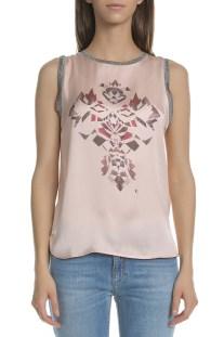 GARCIA JEANS - Γυναικεία αμάνικη μπλούζα Garcia Jeans σε ροζ