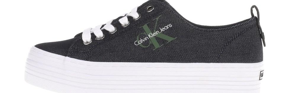 CALVIN KLEIN JEANS - Γυναικεία sneakers ZOLAH CALVIN KLEIN JEANS μπλε