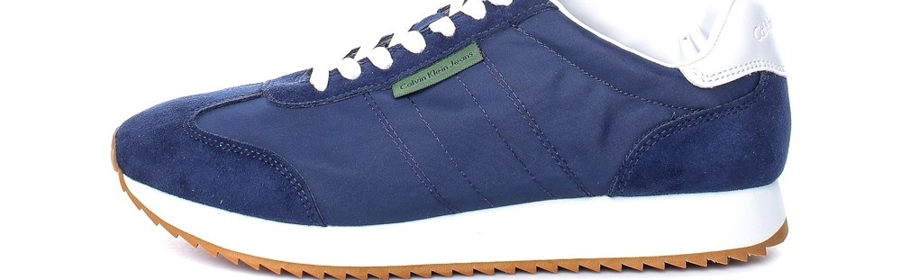 CALVIN KLEIN JEANS - Ανδρικά sneakers CALVIN KLEIN JEANS GRAPH μπλε