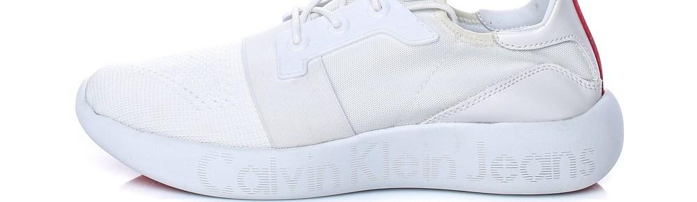 CALVIN KLEIN JEANS - Ανδρικά sneakers Calvin Klein Jeans MEL λευκά