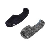JEPA - Ανδρικό σετ κάλτσες JEPA FOOTIES 2 PACK GSA μπλε-γκρι
