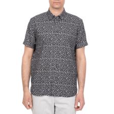 TED BAKER - Ανδρικό κοντομάνικο πουκάμισο PAZTA TED BAKER μπλε