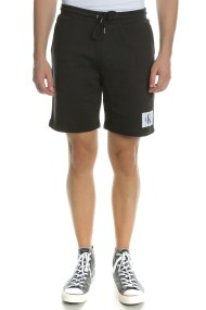 CALVIN KLEIN JEANS - Ανδρική βερμούδα Calvin Klein Jeans HOMEROS 3 SLIM μαύρη