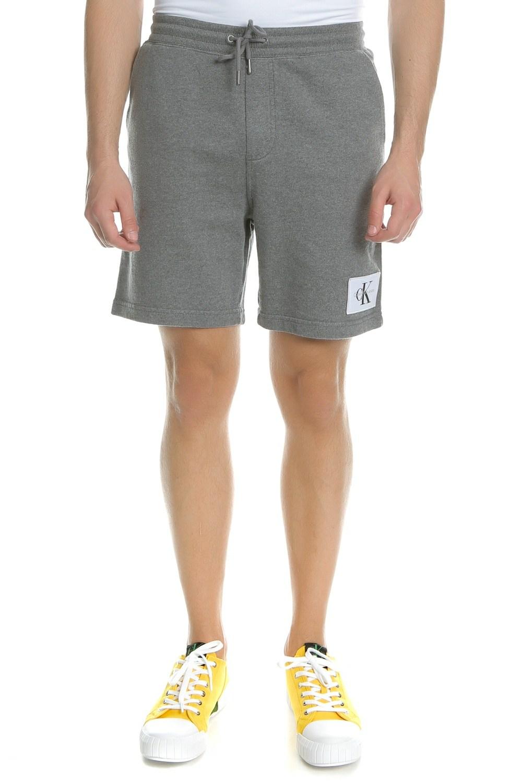CALVIN KLEIN JEANS - Ανδρική βερμούδα Calvin Klein Jeans HOMEROS 3 SLIM γκρι