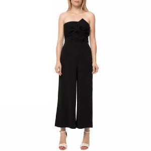GUESS - Γυναικεία ολόσωμη strapless φόρμα GUESS PIPER μαύρη με φιόγκο b7832dac0f8