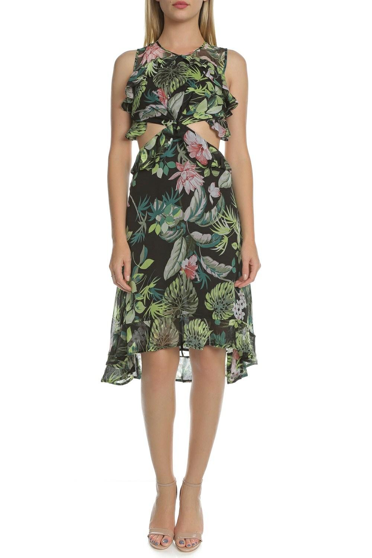 GUESS - Γυναικείο κοντό φόρεμα με άνοιγμα NATALIE GUESS φλοράλ