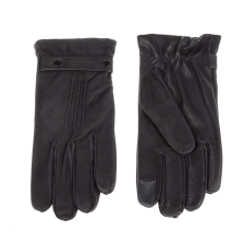 CALVIN KLEIN JEANS - Ανδρικά δερμάτινα γάντια JOAH μαύρα