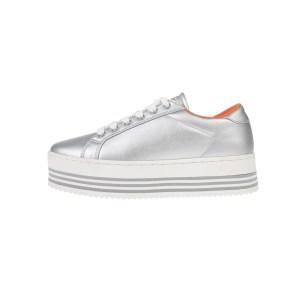 GAS - Γυναικεία sneakers GAS BESSY ασημί