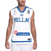 GSA - Ανδρική μπλούζα της Εθνικής Ελλάδος Basket GSA λευκή image