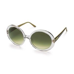 FOLLI FOLLIE - Γυναικεία γυαλιά ηλίου στρογγυλά FOLLI FOLLIE διάφανα