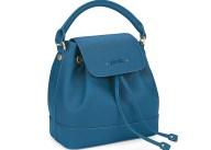 FOLLI FOLLIE - Γυναικεία τσάντα πλάτης FOLLI FOLLIE μπλε