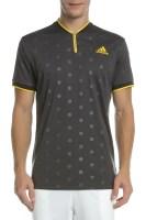 adidas Performance - Ανδρική μπλούζα τένις LDN / US POLO μαύρη