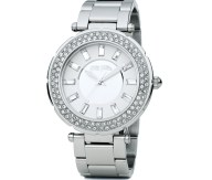 FOLLI FOLLIE - Γυναικείο ρολόι BEAUTIME FOLLI FOLLIE με μπρασελέ ασημί