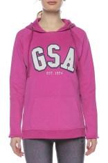 GSA GSA - Γυναικείο φούτερ GLORY φούξια 2018