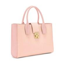 FOLLI FOLLIE - Γυναικεία τσάντα ώμου FOLLI FOLLIE ροζ