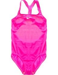 NIKE SWIMWEAR - Κοριτσίστικο ολόσωμο μαγιό RACERBACK SPORT ροζ