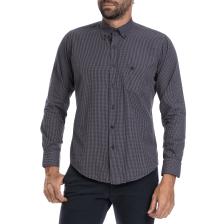 DORS - Ανδρικό καρό πουκάμισο Dors μπλε