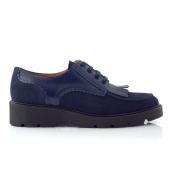 CHANIOTAKIS CHANIOTAKIS - Γυναικεία παπούτσια OXFORD SOFTY μπλε 2018