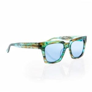 FOLLI FOLLIE - Γυναικεία τετράγωνα γυαλιά ηλίου Folli Follie δίχρωμα