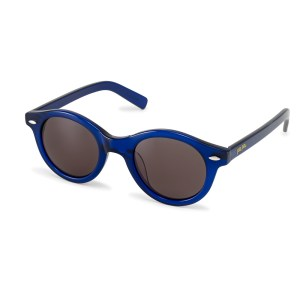 FOLLI FOLLIE - Γυναικεία στρογγυλά γυαλιά ηλίου Folli Follie μπλε 96473595a7c
