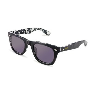 FOLLI FOLLIE - Γυναικεία γυαλιά ηλίου τετράγωνα FOLLI FOLLIE μαύρα με print