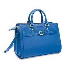 FOLLI FOLLIE - Γυναικεία τσάντα χειρός FOLLI FOLLIE μπλε