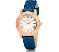 FOLLI FOLLIE - Γυναικείο ρολόι FOLLI FOLLIE μεταλλικό μπλε