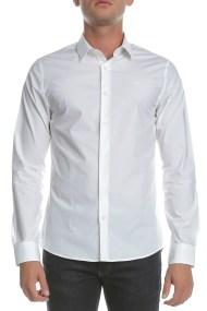 CALVIN KLEIN JEANS - Ανδρικό μακρυμάνικο πουκάμισο CKJ λευκό