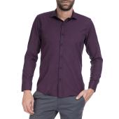 HAMPTONS - Ανδρικό πουκάμισο HAMPTONS μπλε-κόκκινο image